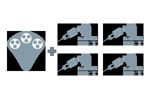 Four manipulator systems